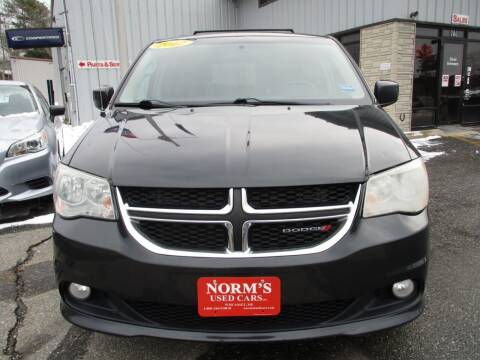 2012 Dodge Grand Caravan for sale at NORM'S USED CARS INC - Trucks By Norm's in Wiscasset ME