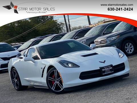 2016 Chevrolet Corvette for sale at Star Motor Sales in Downers Grove IL