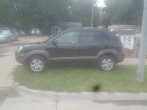 2006 Hyundai Tucson for sale at D & D Auto Sales in Topeka KS