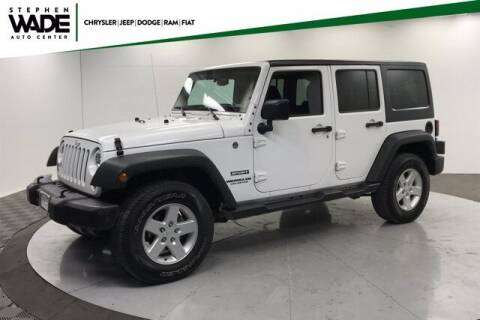 2016 Jeep Wrangler Unlimited for sale at Stephen Wade Pre-Owned Supercenter in Saint George UT