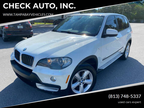 2010 BMW X5 for sale at CHECK AUTO, INC. in Tampa FL