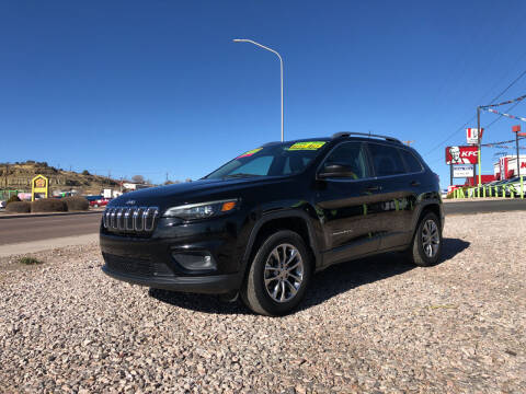 2019 Jeep Cherokee for sale at 1st Quality Motors LLC in Gallup NM