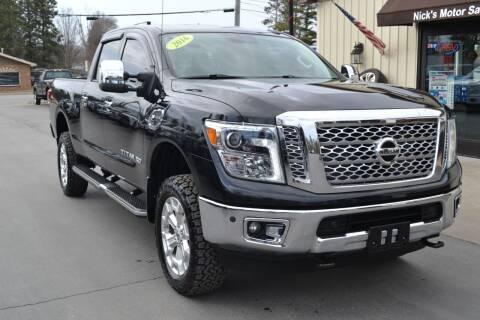 2016 Nissan Titan XD for sale at Nick's Motor Sales LLC in Kalkaska MI