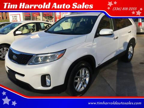 2014 Kia Sorento for sale at Tim Harrold Auto Sales in Wilkesboro NC
