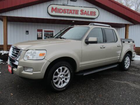 2007 Ford Explorer Sport Trac for sale at Midstate Sales in Foley MN