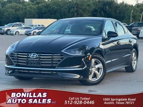 2021 Hyundai Sonata for sale at Bonillas Auto Sales in Austin TX