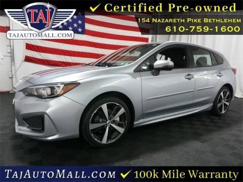 2017 Subaru Impreza for sale at Taj Auto Mall in Bethlehem PA