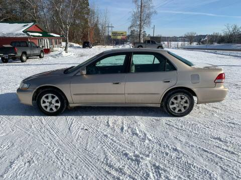 2001 Honda Accord for sale at Motors-N-More Online Auctions in Park Rapids MN