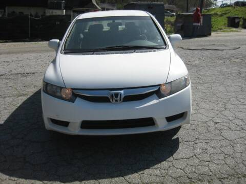 2010 Honda Civic for sale at LAKE CITY AUTO SALES in Forest Park GA