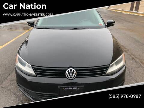 2011 Volkswagen Jetta for sale at Car Nation in Webster NY
