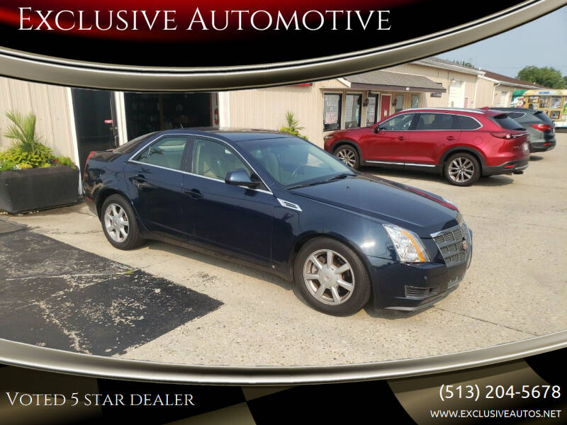 2008 Cadillac CTS for sale at Exclusive Automotive in West Chester OH