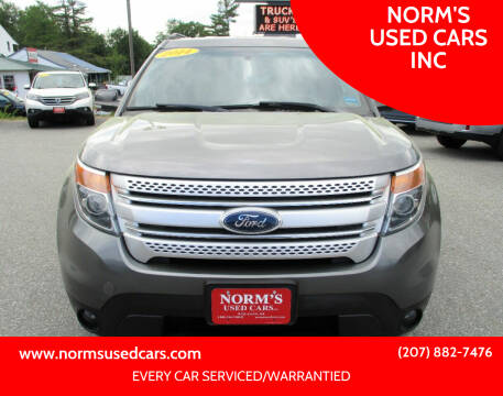 2014 Ford Explorer for sale at NORM'S USED CARS INC in Wiscasset ME