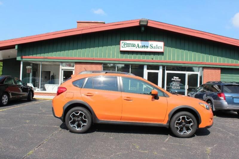 2015 Subaru XV Crosstrek for sale at Gentry Auto Sales in Portage MI