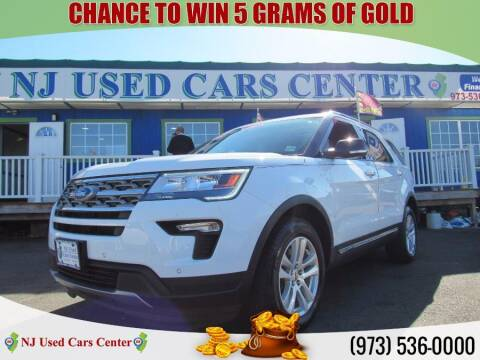 2018 Ford Explorer for sale at New Jersey Used Cars Center in Irvington NJ