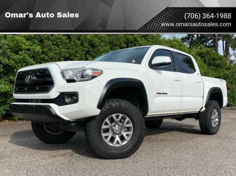 2016 Toyota Tacoma for sale at Omar's Auto Sales in Martinez GA