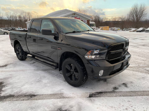 2017 RAM Ram Pickup 1500 for sale at DANSVILLE AUTO MART INC in Dansville NY