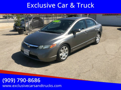2006 Honda Civic for sale at Exclusive Car & Truck in Yucaipa CA