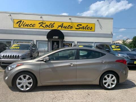 2013 Hyundai Elantra for sale at Vince Kolb Auto Sales in Lake Ozark MO