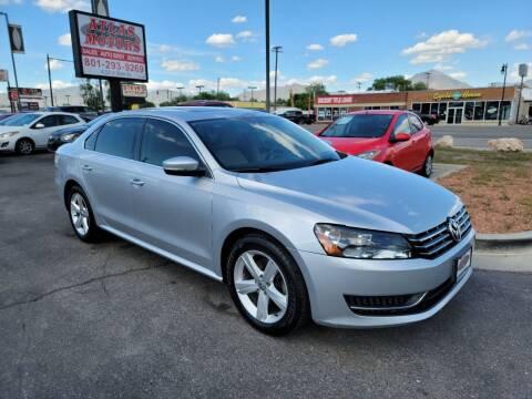 2013 Volkswagen Passat for sale at ATLAS MOTORS INC in Salt Lake City UT