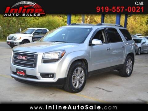 2015 GMC Acadia for sale at Inline Auto Sales in Fuquay Varina NC