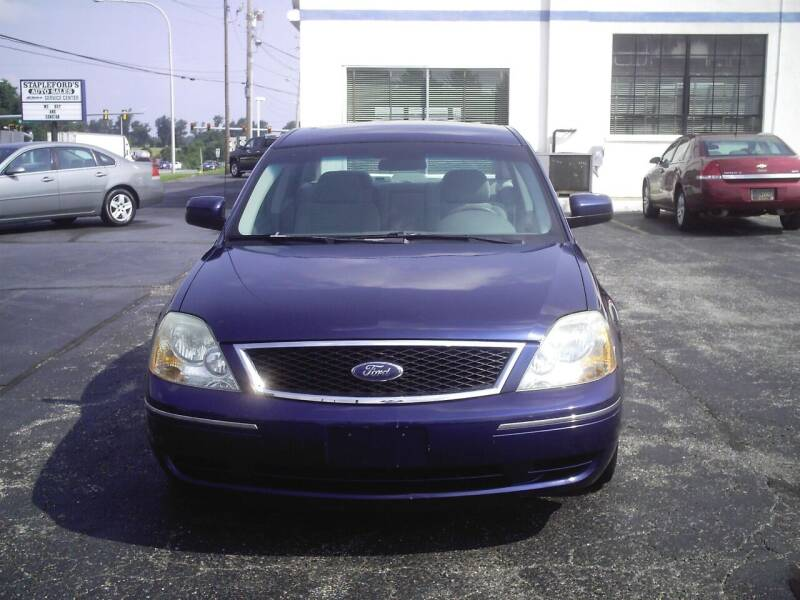 2006 Ford Five Hundred for sale at STAPLEFORD'S SALES & SERVICE in Saint Georges DE
