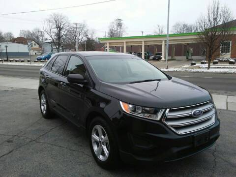 2016 Ford Edge for sale at BELLEFONTAINE MOTOR SALES in Bellefontaine OH