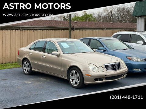 2006 Mercedes-Benz E-Class for sale at ASTRO MOTORS in Houston TX