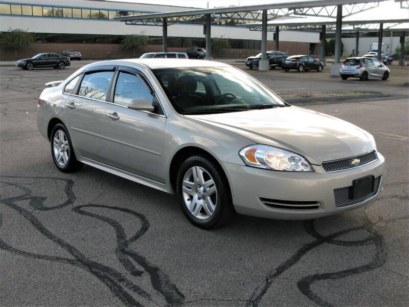 2012 Chevrolet Impala for sale at The Car Vault in Holliston MA