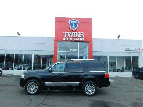 2011 Lincoln Navigator for sale at Twins Auto Sales Inc Redford 1 in Redford MI
