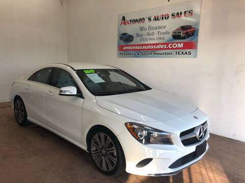 2017 Mercedes-Benz CLA for sale at Antonio's Auto Sales in South Houston TX