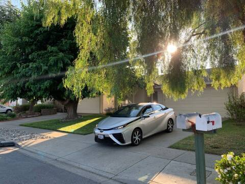 2017 Toyota Mirai for sale at Blue Eagle Motors in Fremont CA