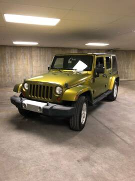 2008 Jeep Wrangler Unlimited for sale at Select AWD in Provo UT