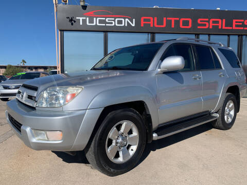 2003 Toyota 4Runner for sale at Tucson Auto Sales in Tucson AZ
