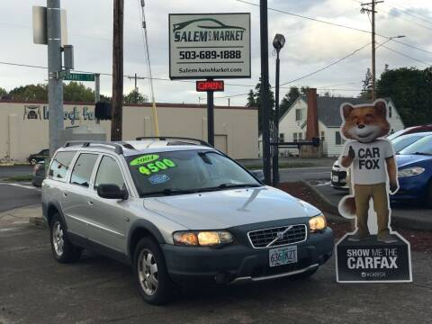 2004 Volvo XC70 for sale at Salem Auto Market in Salem OR