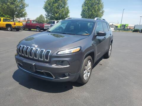 2014 Jeep Cherokee for sale at Boardman Auto Exchange in Youngstown OH