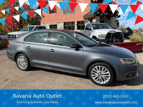 2014 Volkswagen Jetta for sale at Bavaria Auto Outlet in Victoria MN