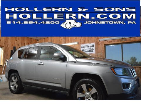 2017 Jeep Compass for sale at Hollern & Sons Auto Sales in Johnstown PA