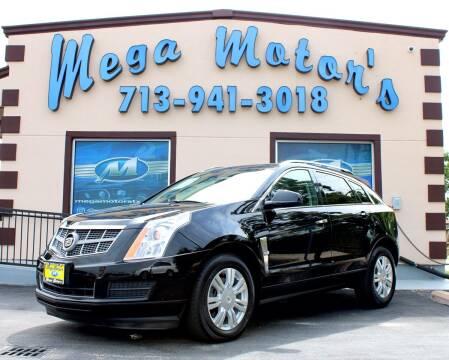 2010 Cadillac SRX for sale at MEGA MOTORS in South Houston TX
