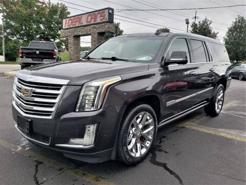 2017 Cadillac Escalade ESV for sale at I-DEAL CARS in Camp Hill PA