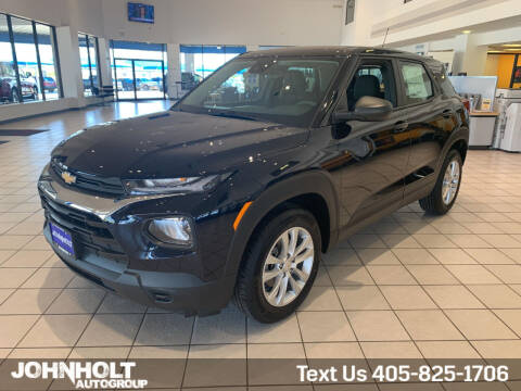 2021 Chevrolet TrailBlazer for sale at JOHN HOLT AUTO GROUP, INC. in Chickasha OK