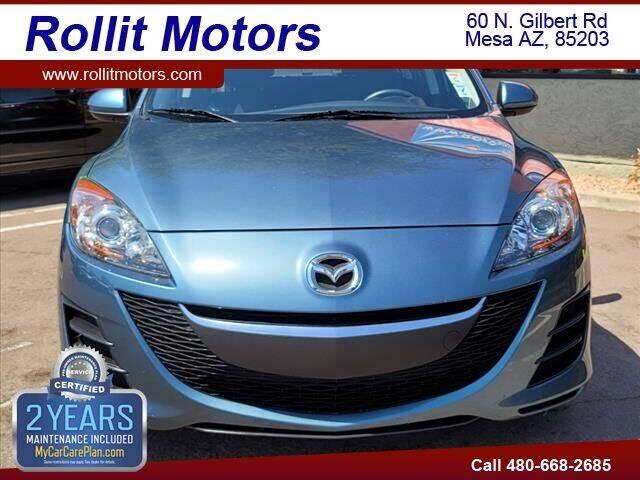 2010 Mazda MAZDA3 for sale at Rollit Motors in Mesa AZ