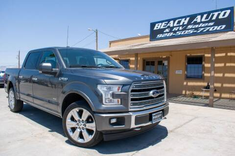 2017 Ford F-150 for sale at Beach Auto and RV Sales in Lake Havasu City AZ