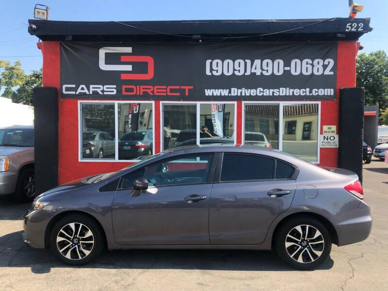 2015 Honda Civic for sale at Cars Direct in Ontario CA