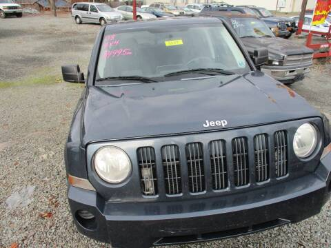 2008 Jeep Patriot for sale at FERNWOOD AUTO SALES in Nicholson PA