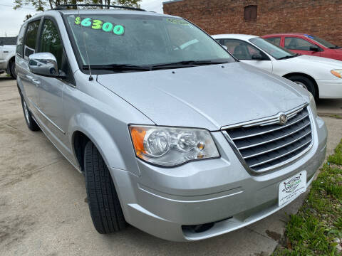 2010 Chrysler Town and Country for sale at Rocket Cars Auto Sales LLC in Des Moines IA
