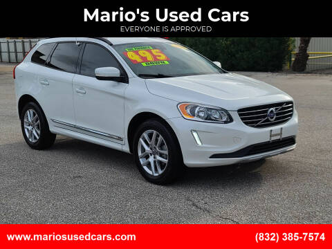2017 Volvo XC60 for sale at Mario's Used Cars - Pasadena Location in Pasadena TX