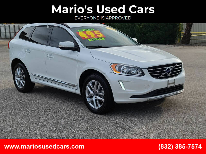 2017 Volvo XC60 for sale at Mario's Used Cars - Pasadena Location in Pasadena TX