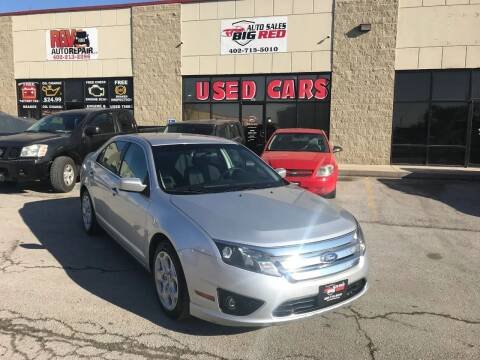 2011 Ford Fusion for sale at Big Red Auto Sales in Papillion NE