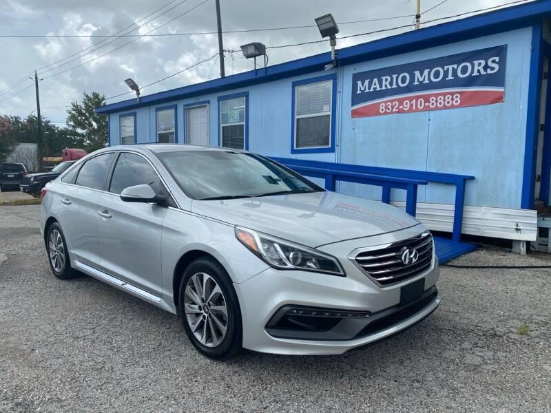 2016 Hyundai Sonata for sale at Mario Motors in South Houston TX