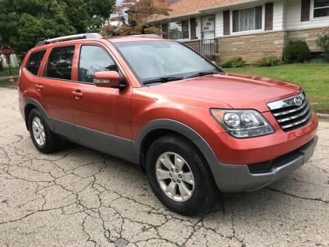2009 Kia Borrego for sale at Via Roma Auto Sales in Columbus OH